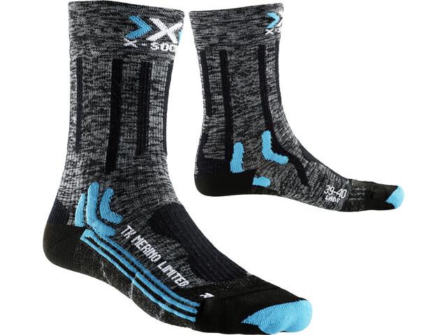 X-Bionic Trekking Merino Limited Socks Damen grey/black